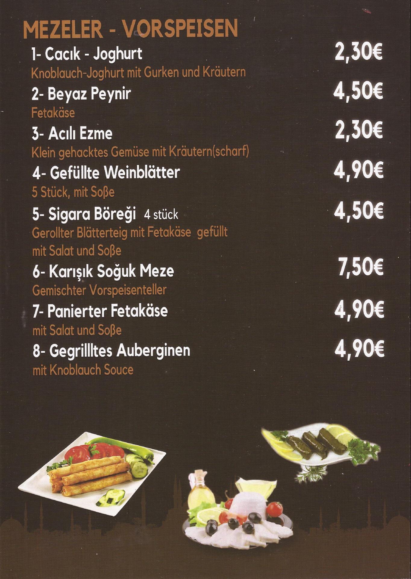 istanbul geldern speisekarte